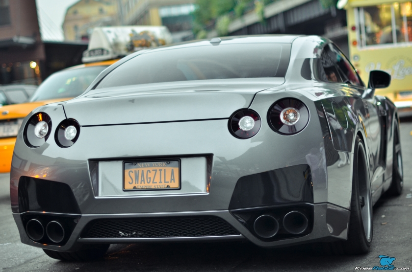 Nissan Skyline GTR 35 in NYC